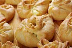 Rosyjscy kulebiaki z serem Obraz Royalty Free
