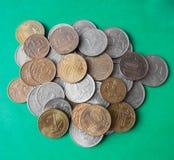Rosyjscy ruble i kopiejki Fotografia Stock