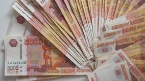 Rosyjscy thousandth banknoty 002 fotografia stock