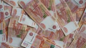 Rosyjscy thousandth banknoty 003 obraz royalty free
