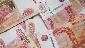 Rosyjscy thousandth banknoty 004 fotografia royalty free