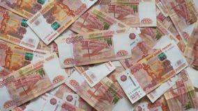 Rosyjscy thousandth banknoty 006 zdjęcie stock