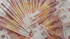 Rosyjscy thousandth banknoty 007 obrazy stock