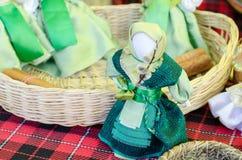 Rosyjscy wieśniaków uroki handcrafted zdjęcie royalty free