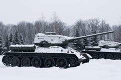Rosyjscy zbiorniki Zdjęcia Royalty Free