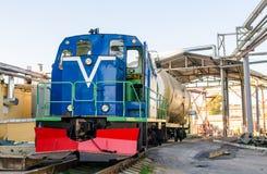 Rosyjska dieslowska lokomotywa Zdjęcia Royalty Free