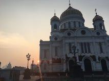 Rosyjska katedra Obraz Royalty Free