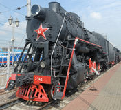 Rosyjska lokomotywa Obraz Royalty Free