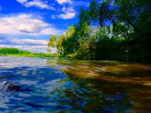 Rosyjska natura jak obrazek Zdjęcie Stock