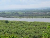 Rosyjska natura w Bashkortostan Zdjęcie Stock