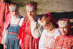 Rosyjska obywatel suknia fotografia royalty free