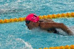 Rosyjska olympian i światowa mistrz żabki pływaczka Yulia Yefimova Fotografia Royalty Free