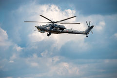 Rosyjska siły powietrzne Mi-28 Zdjęcie Royalty Free