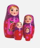 Rosyjska tradycyjna lala - Matrioshka Zdjęcia Stock
