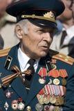 rosyjska weteran wojny fotografia stock