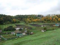 Rosyjska wioska Zdjęcia Stock
