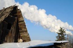 Rosyjska zima. Fotografia Royalty Free