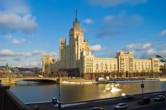 rosyjski drapacz chmur zdjęcia royalty free