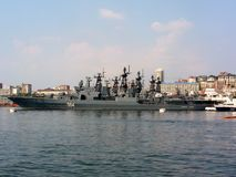 Rosyjski flota pacyfiku obrazy stock