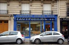 Rosyjski Gastronomy w Paryż Obrazy Stock