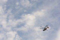 Rosyjski helikopter obraz stock