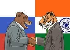 Rosyjski indianin Alliance Zdjęcia Royalty Free