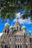 Rosyjski kościół Obrazy Royalty Free