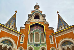 Rosyjski kościół w Ładnym Obraz Royalty Free