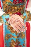 Rosyjski krajowy kostium Zdjęcia Royalty Free