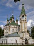 Rosyjski małomiasteczkowy kościół Obrazy Royalty Free