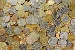 Rosyjski metalu pieniądze Obrazy Stock