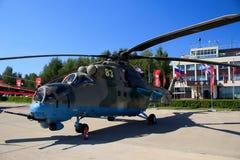 Rosyjski militarny helikopter Ми28 zdjęcia stock