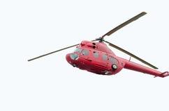 Rosyjski Militarny helikopter Zdjęcie Stock