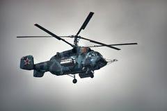 Rosyjski militarny helikopter KA-29 Fotografia Royalty Free