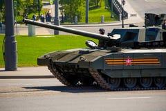 Rosyjski militarny wyposażenie Parada w mieście Zdjęcie Royalty Free