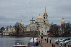 Rosyjski monaster obrazy royalty free