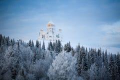 Rosyjski monaster Zdjęcia Royalty Free
