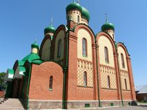 Rosyjski monaster Fotografia Royalty Free