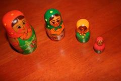 rosyjski nest lalki Obrazy Royalty Free
