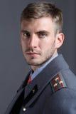 Rosyjski oficer wojskowy Fotografia Stock
