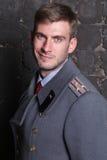 Rosyjski oficer wojskowy Zdjęcia Royalty Free