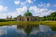 Rosyjski pałac w nieruchomości Kyskovo w Moskwa zdjęcia stock