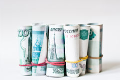 Rosyjski pieniądze Zdjęcie Royalty Free