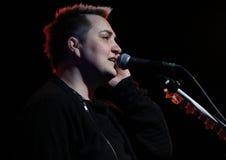 Rosyjski piosenkarz Novosadovitch moscow Zdjęcie Royalty Free