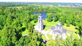 Rosyjski punkt zwrotny Zalewająca dzwonnica zdjęcie wideo