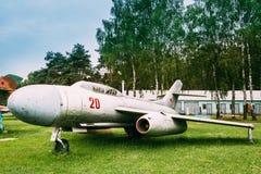 Rosyjski Radziecki Naddźwiękowy wojskowy Hebluje samolot bombowiec Obrazy Royalty Free