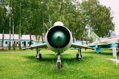 Rosyjski Radziecki Naddźwiękowy wojskowy Hebluje samolot bombowiec Obraz Stock