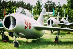 Rosyjski Radziecki Naddźwiękowy wojskowy Hebluje samolot bombowiec Zdjęcia Stock