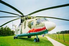 Rosyjski Radziecki purpose transportu helikopter Zdjęcia Royalty Free