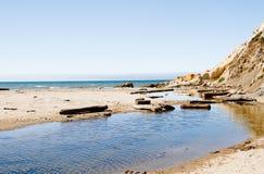 Rosyjski rzeczny wchodzić do Calif morze Fotografia Royalty Free